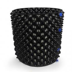 Air Rap Pot de 50 litres noir - Air Pruning Pot