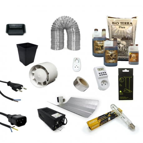 Pack culture TERRE 400W - BIO CANNA - 4 plantes