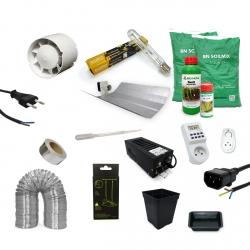 Pack culture TERRE 400W - BIO NOVA - 4 plantes