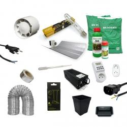 Pack culture TERRE 600W - BIO NOVA - 6 plantes