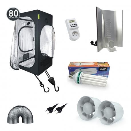 Pack Tente CFL Dual spectrum 150W - Probox 80 + Agrolite