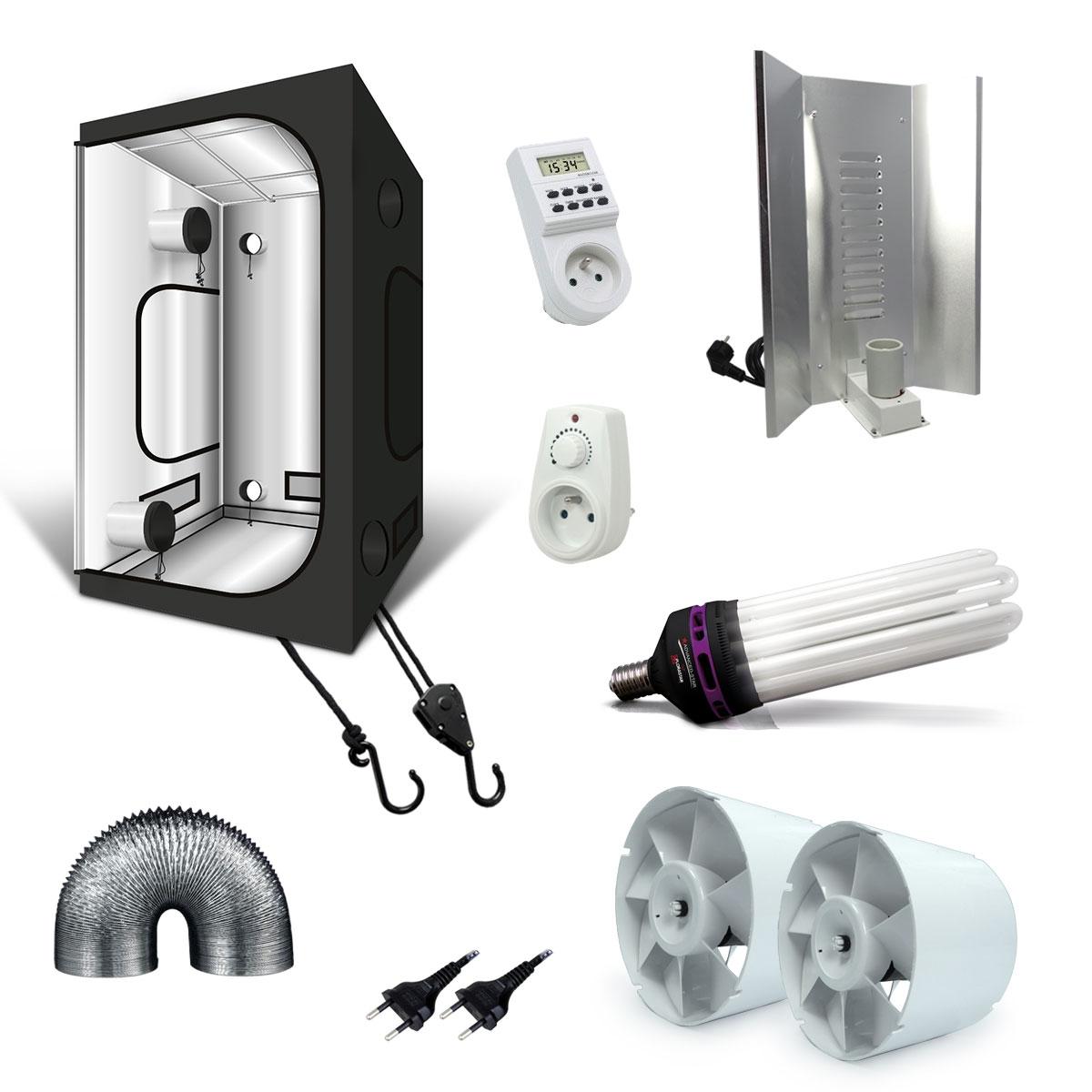 pack box g max 120x120x200cm lampe co cfl 250w dual spectrum. Black Bedroom Furniture Sets. Home Design Ideas