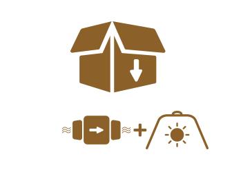 Catégorie Pack extracteur + réflecteur
