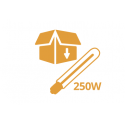Kit lampe 250W